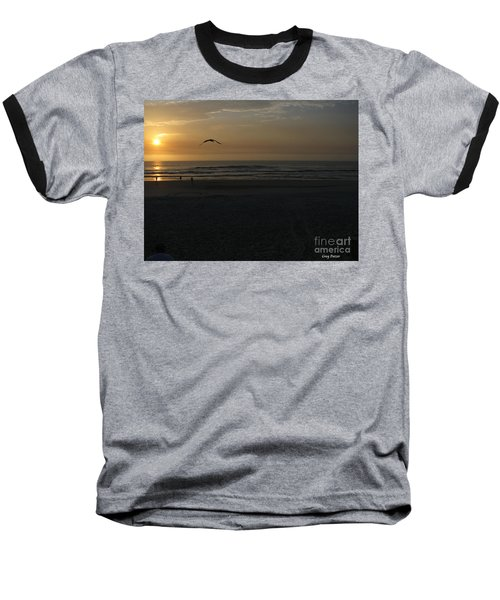 Baseball T-Shirt featuring the photograph It Starts by Greg Patzer