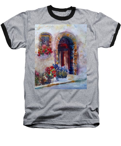 Italian Door Baseball T-Shirt