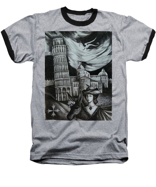 Italian Fantasies. Pisa Baseball T-Shirt