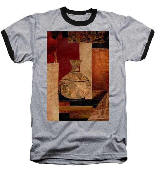 Italian Urn Collage Baseball T-Shirt by Patricia Cleasby