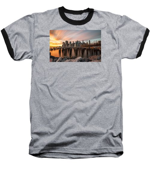 Its A New Year  Baseball T-Shirt by Anthony Fields