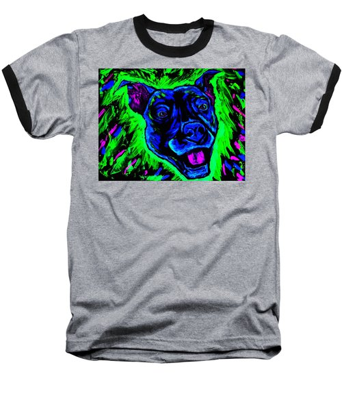 It's A Pitty Black Light Baseball T-Shirt