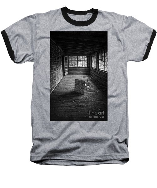 Baseball T-Shirt featuring the photograph It's Empty Now by Debra Fedchin