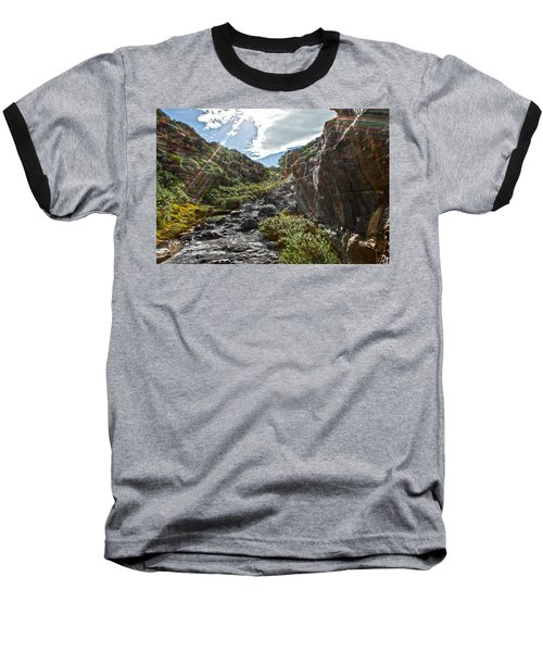 Baseball T-Shirt featuring the photograph Its Raining Rainbows by Miroslava Jurcik