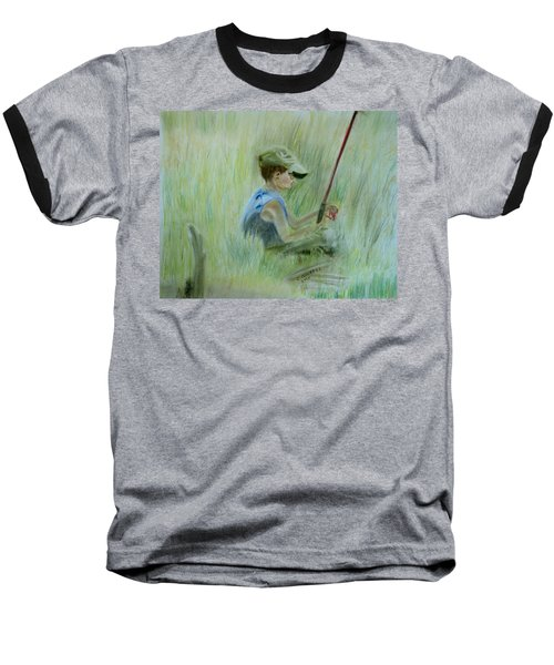 Ivan And The Red Rod Baseball T-Shirt