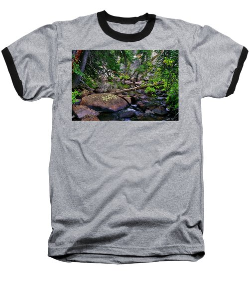 Baseball T-Shirt featuring the photograph Ivanhoe Serenity by Jeremy Rhoades