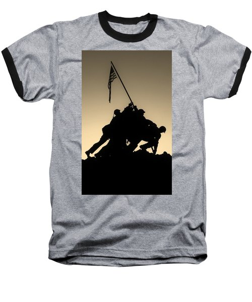 Iwo Baseball T-Shirt by Robert Geary