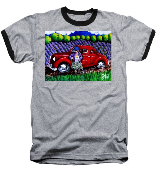 J. C. 1931 Fishing In Red Baseball T-Shirt