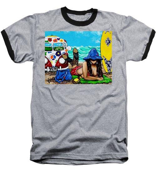 J. C. Beaching It In 1961 Baseball T-Shirt