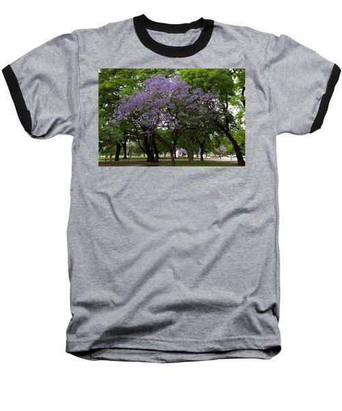 Jacaranda In The Park Baseball T-Shirt