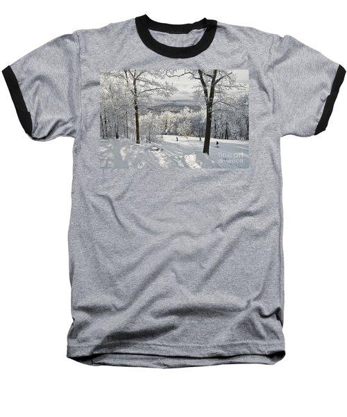 Jack Rabbit Baseball T-Shirt by Lois Bryan