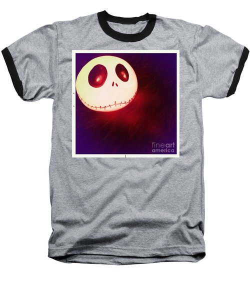 Jack Skellington Glowing Baseball T-Shirt