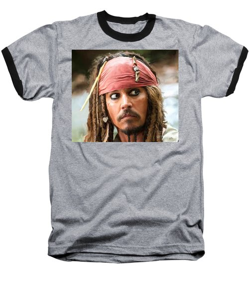 Jack Sparrow Baseball T-Shirt