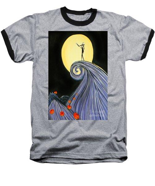 Jack's Lament Baseball T-Shirt by Marisela Mungia