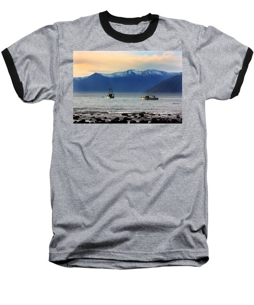 Baseball T-Shirt featuring the photograph Jackson Bay South Westland New Zealand by Amanda Stadther