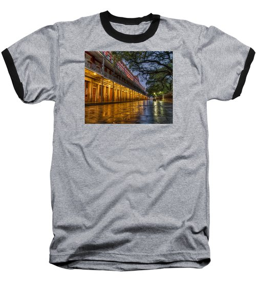 Jackson Square Reflections Baseball T-Shirt by Tim Stanley