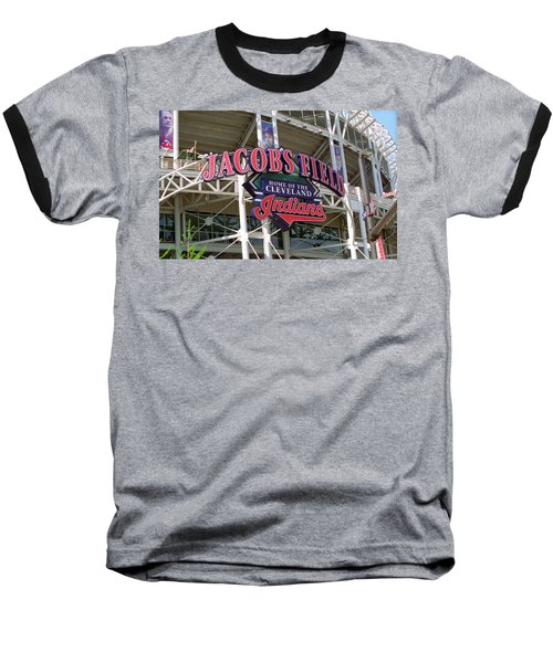 Jacobs Field - Cleveland Indians Baseball T-Shirt by Frank Romeo