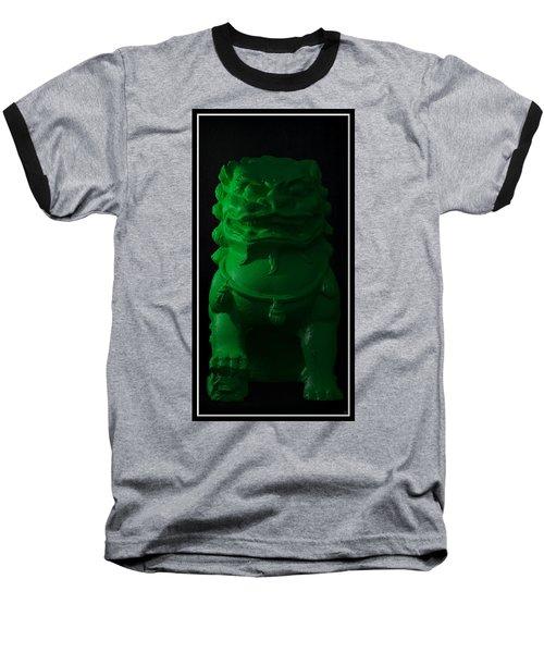 Baseball T-Shirt featuring the digital art Jade... by Tim Fillingim