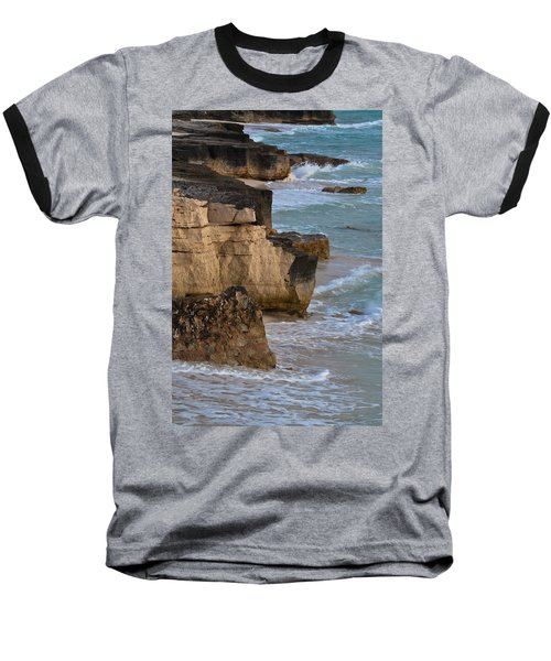 Jagged Shore Baseball T-Shirt