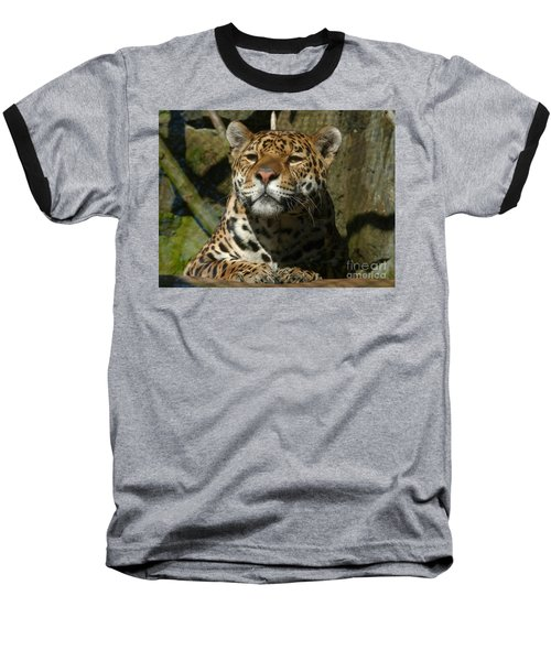 Baseball T-Shirt featuring the photograph Jaguar by Phil Banks