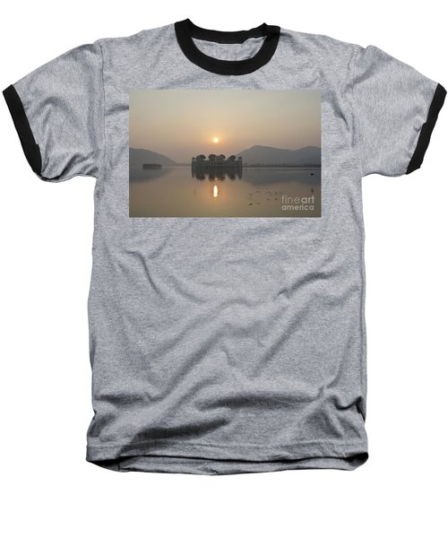 Jal Mahal In Sunrise Baseball T-Shirt
