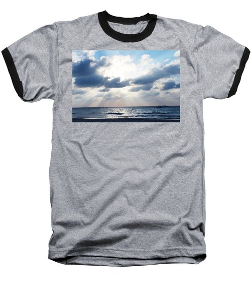 Jamaican Sunset2 Baseball T-Shirt