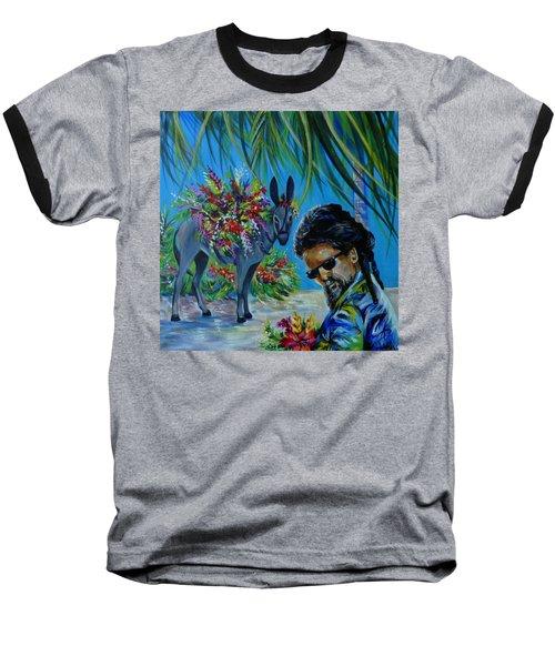 Jamaica.part One Baseball T-Shirt by Anna  Duyunova