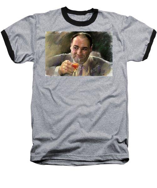 James Gandolfini Baseball T-Shirt