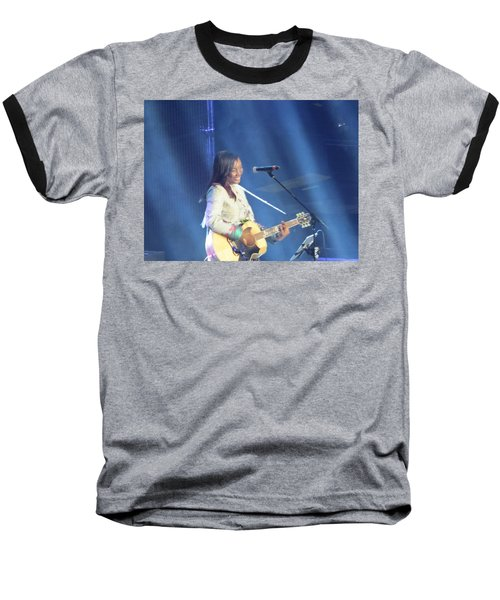 Baseball T-Shirt featuring the photograph Jamie Grace by Aaron Martens