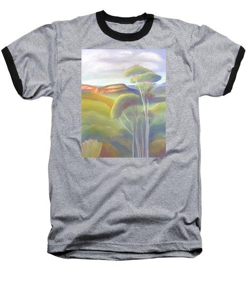 Jamison Valley Blue Mountains National Park Nsw Australia Baseball T-Shirt