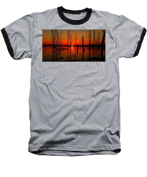 January Sunrise Baseball T-Shirt
