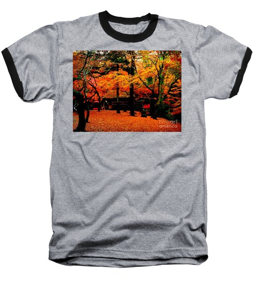 Japan Autumn Fantacy Baseball T-Shirt