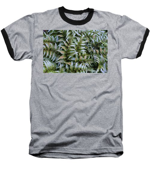 Baseball T-Shirt featuring the photograph Japanese Ferns by Kathryn Meyer