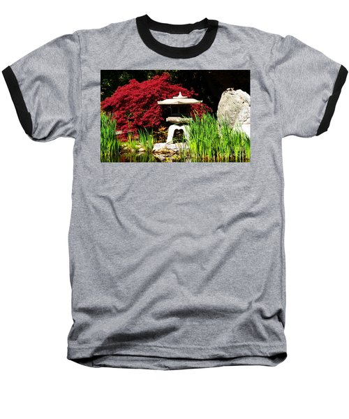 Japanese Garden Baseball T-Shirt