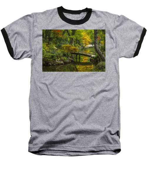 Baseball T-Shirt featuring the photograph Japanese Garden by Sebastian Musial