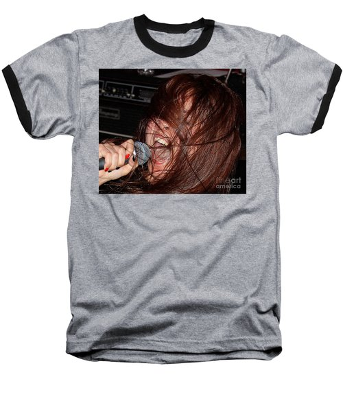 Baseball T-Shirt featuring the photograph Japanese Intensity by Steven Macanka