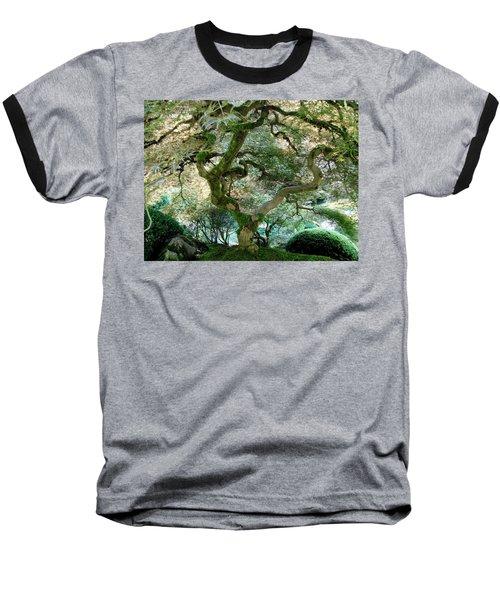Baseball T-Shirt featuring the photograph Japanese Maple Tree II by Athena Mckinzie