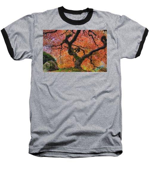 Japanese Maple Tree In Fall Baseball T-Shirt
