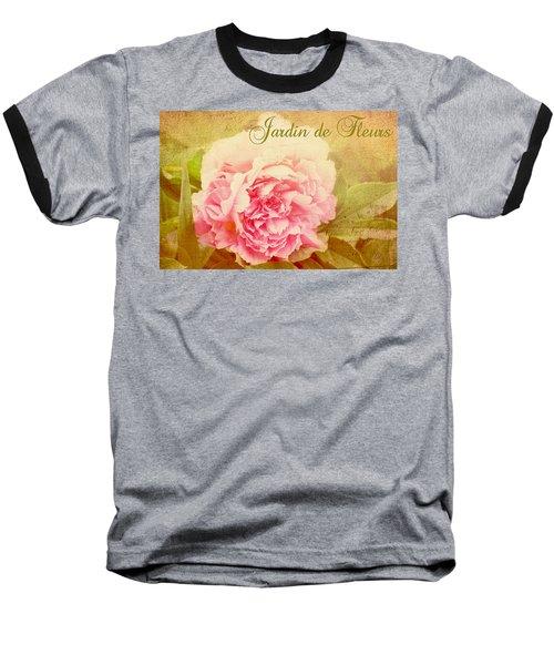Jardin De Fleurs Baseball T-Shirt by Trina  Ansel