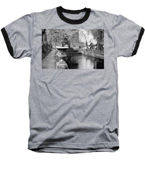 Jardin De Medicis Paris Baseball T-Shirt