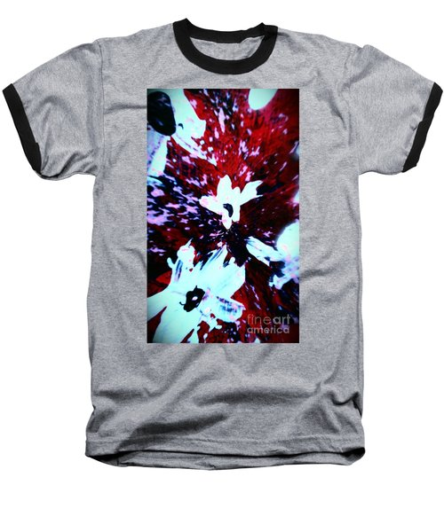 Baseball T-Shirt featuring the painting Jasmine In My Mind  by Jacqueline McReynolds