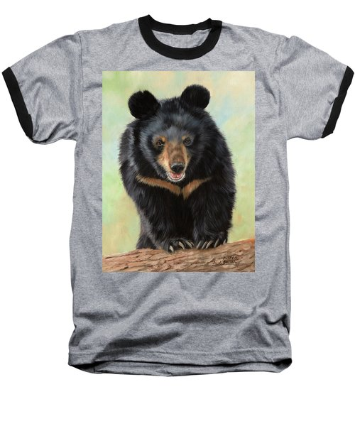Jasper Moon Bear - In Support Of Animals Asia Baseball T-Shirt
