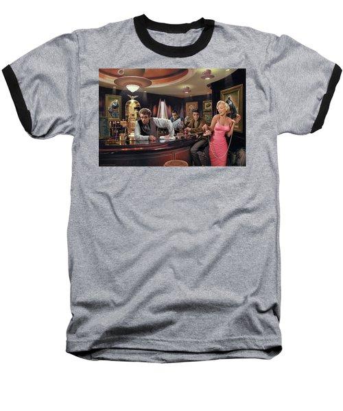 Java Dreams Baseball T-Shirt by Chris Consani