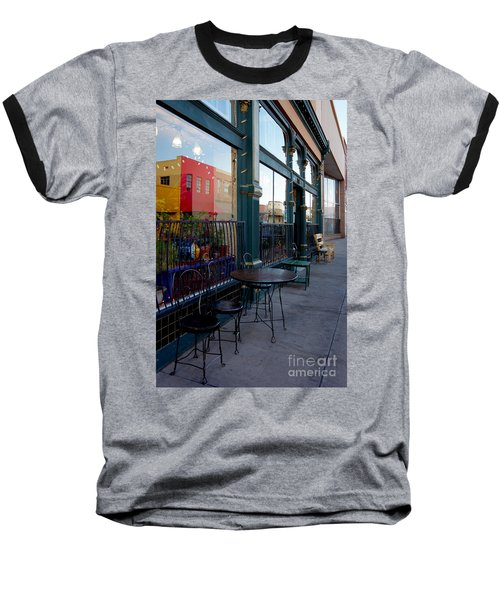 Baseball T-Shirt featuring the photograph Java Time by Vicki Pelham