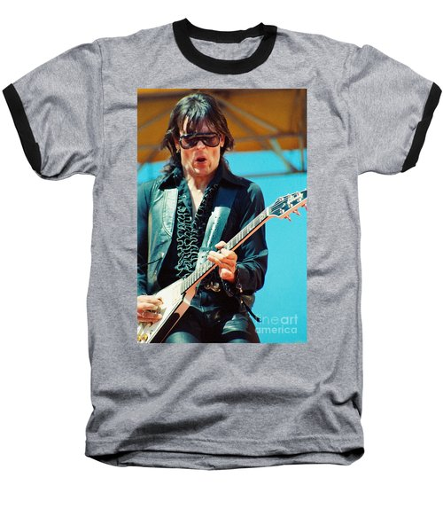 Jay Geils Of The J Geils Band- Day On The Green July 4th 1979 Baseball T-Shirt