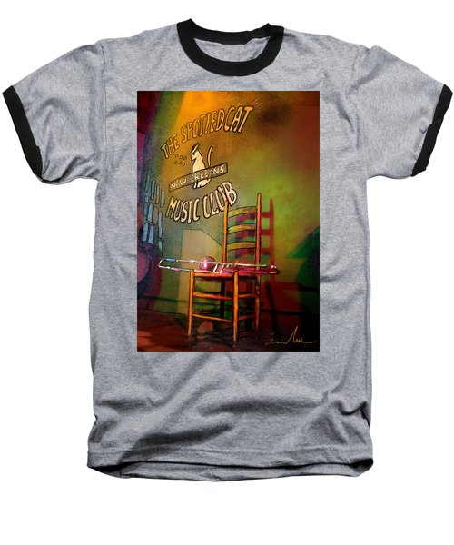 Jazz Break In New Orleans Baseball T-Shirt