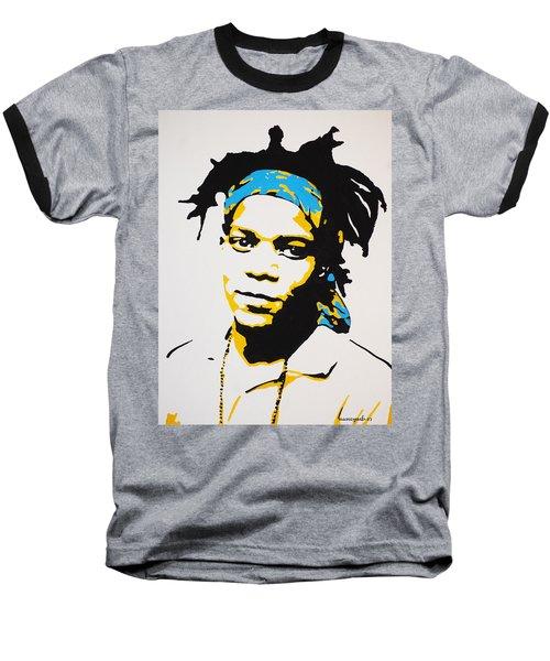 Jean-michel Basquiat Baseball T-Shirt