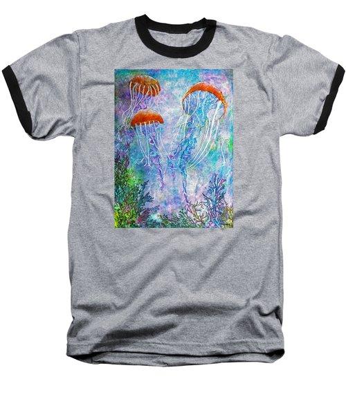 Jellies Baseball T-Shirt by Janet Immordino