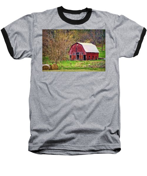 Jemerson Creek Barn Baseball T-Shirt