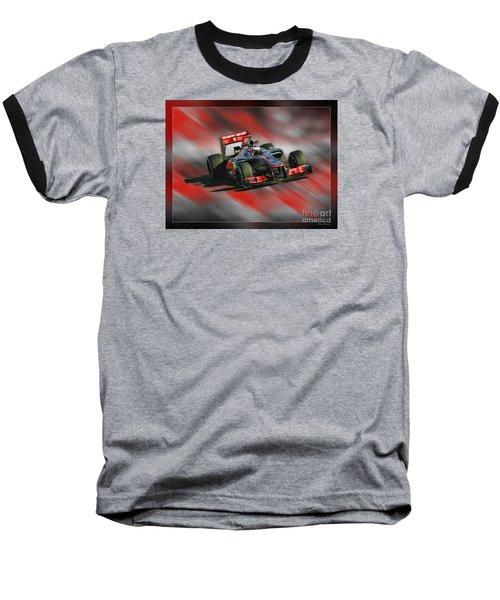 Jenson Button  Baseball T-Shirt